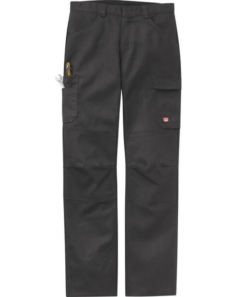 Red Kap Men's Charcoal Grey Performance Shop Pants , Charcoal Grey, hi-res