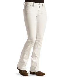 Grace in La Women's Released Hem Jeans - Boot Cut , , hi-res