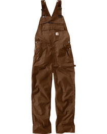 Carhartt Extremes® Dark Brown Force Bib Overalls , , hi-res