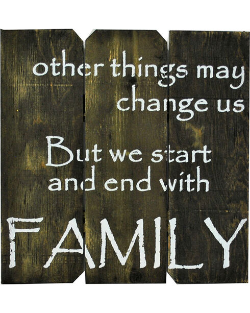 "Boulder Innovations ""Family"" Wall Sign, No Color, hi-res"