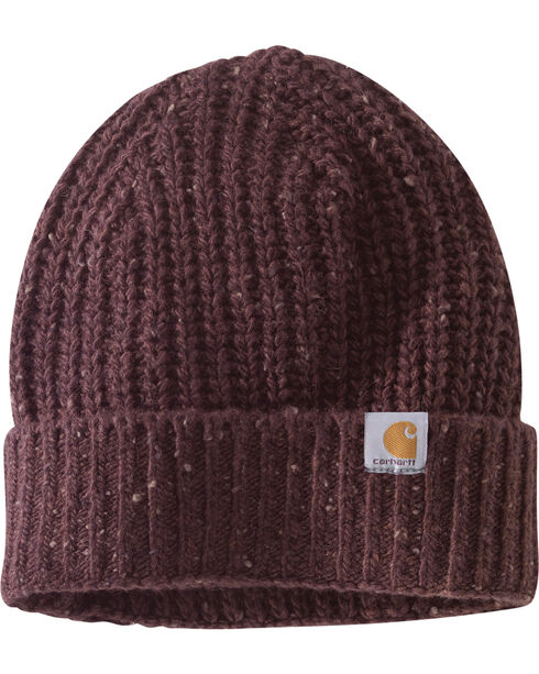 Carhartt Women's Fudge Heather Clearwater Hat, Brown, hi-res