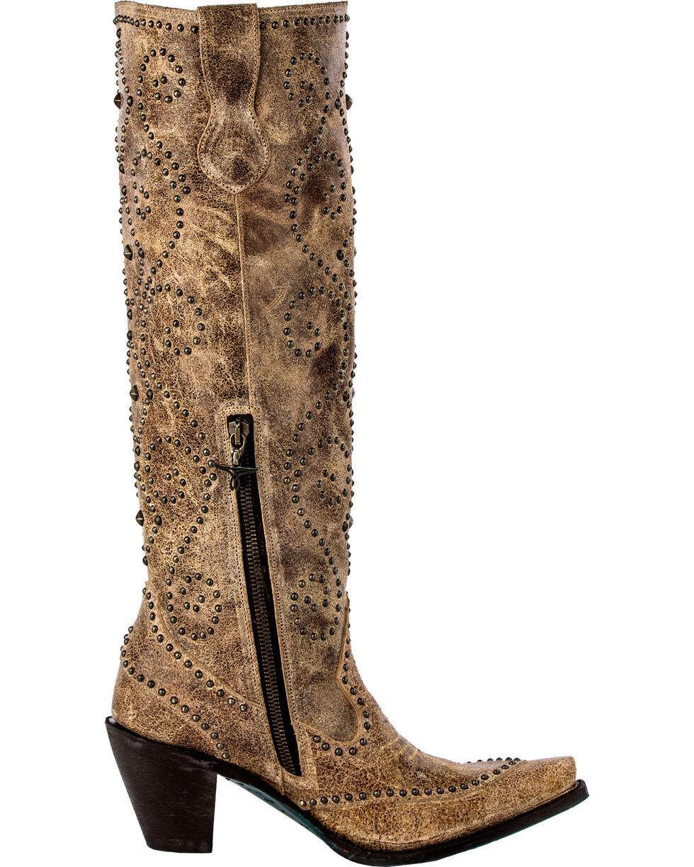 Lane Women's Conchita Fashion Western Boots, Tan, hi-res
