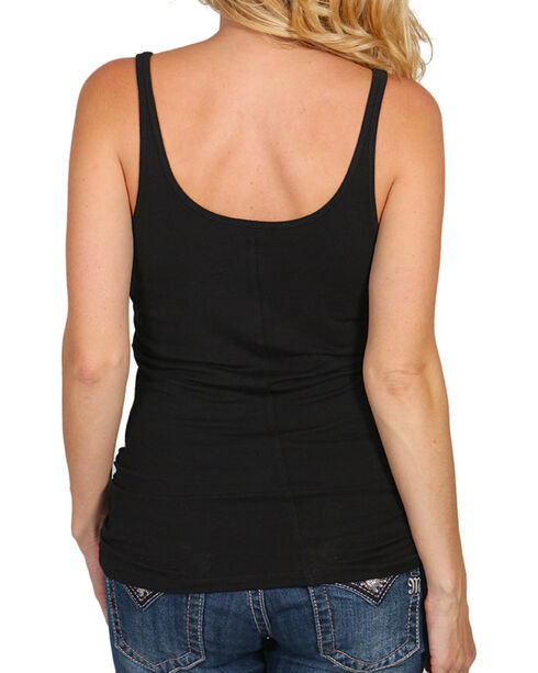 Shyanne Women's Classic Layering Tank Top, Black, hi-res