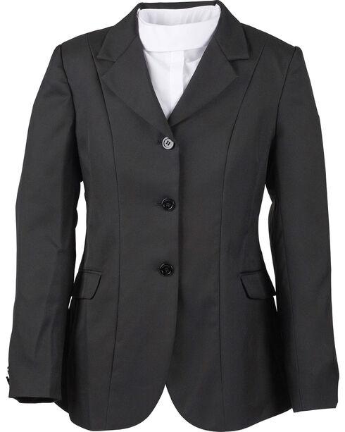 Dublin Kids' Ashby Show Coat, Black, hi-res