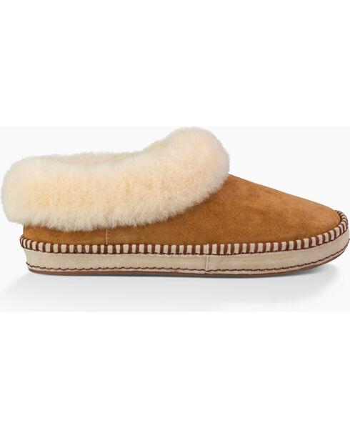 UGG Women's Wrin Slippers, Chestnut, hi-res