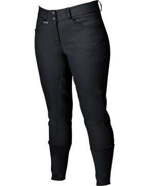 Dublin Women's Everyday Shapely Full Seat Breeches, Black, hi-res