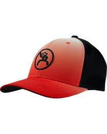 Hooey Men's Red Bora Ombre Snapback Baseball Cap , , hi-res