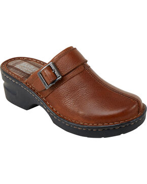 Eastland Women's Tan Mae Clogs, Tan, hi-res