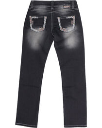 Shyanne Girl's Low Rise Straight Skinny Jeans, , hi-res