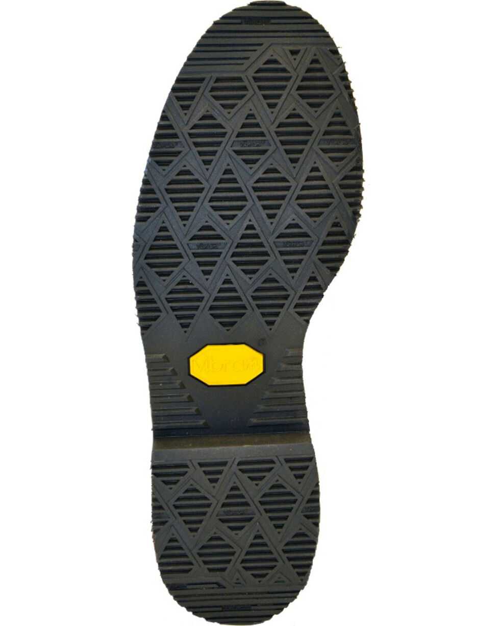 "Chippewa Men's Oiled  8"" Lace-Up Waterproof Work Boots - Steel Toe, Walnut, hi-res"