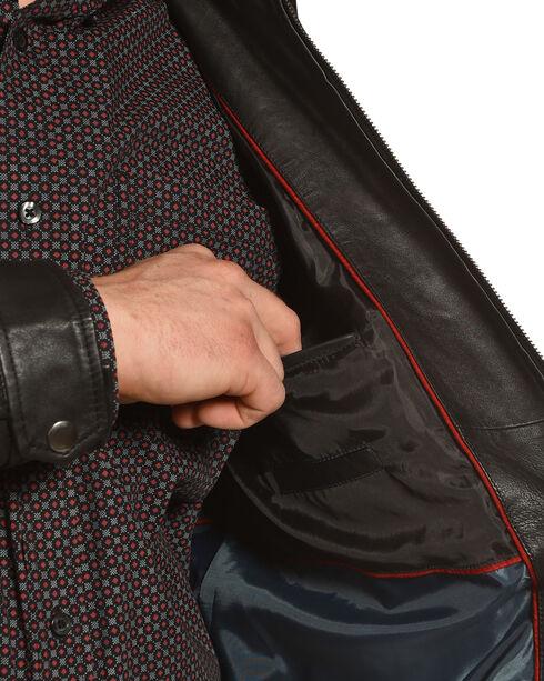 Cody James Men's Lambskin Jacket, Black, hi-res