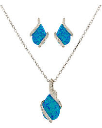 Montana Silversmiths Women's River Lights Twin Paths Jewelry Set, , hi-res