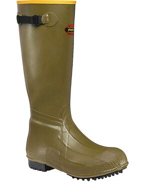 "LaCrosse Men's Burly Air-Grip 18"" Hunting Boots, Green, hi-res"