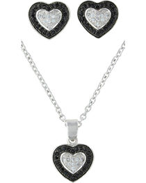 Montana Silversmiths Double Layer of Love Jewelry Set, , hi-res