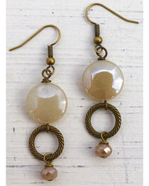 InspireDesigns Women's Stacked Circle Earrings , , hi-res