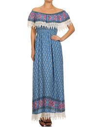 Freeway Apparel Women's Off The Shoulder Maxi Dress , , hi-res