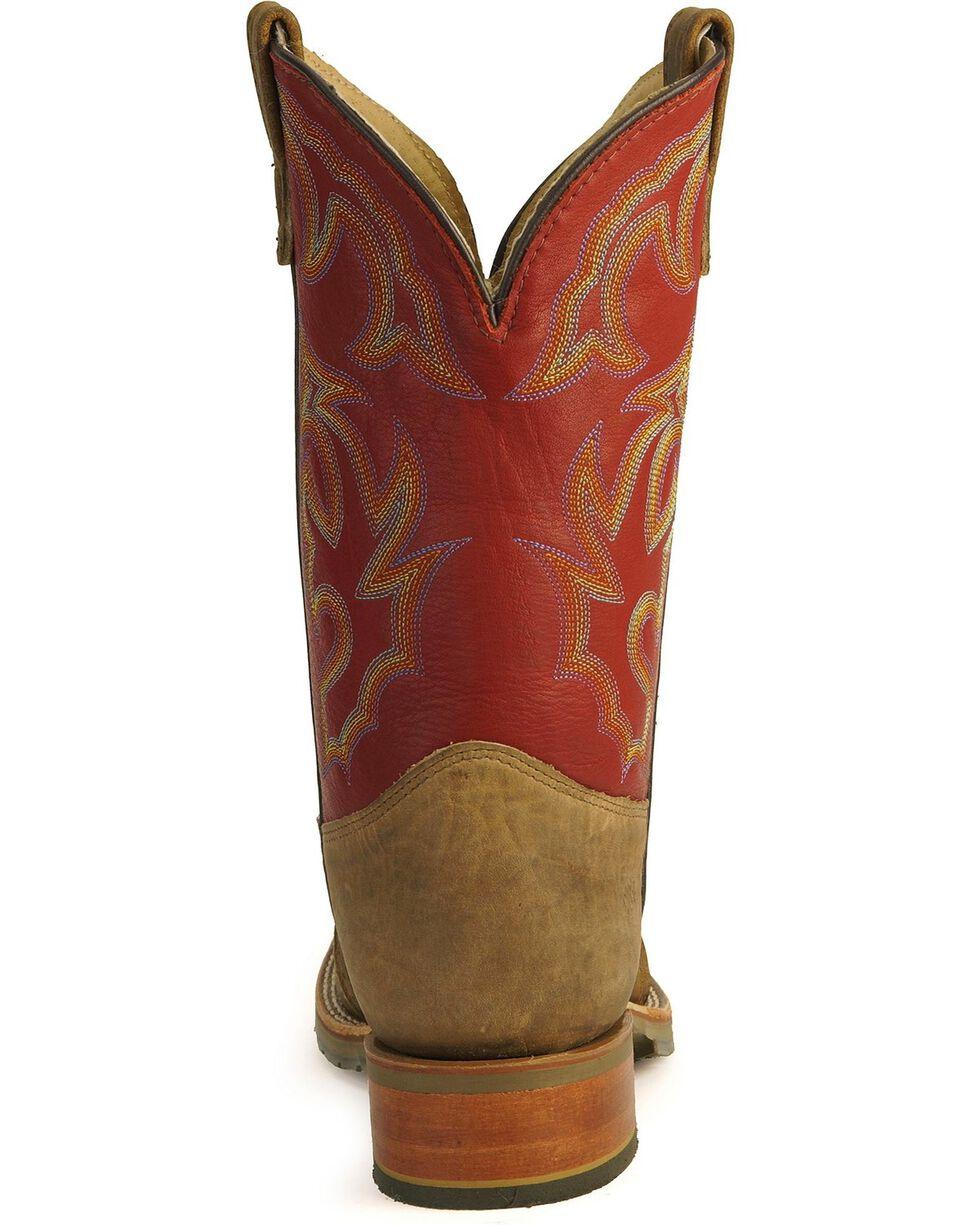 Double-H Men's Western Work Boots, Golden Tan, hi-res