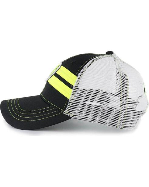 Ariat Men's Neon Logo Snap Back Ball Cap, Black, hi-res