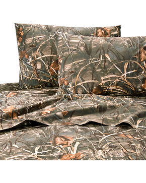 Realtree Max-4 Queen Sheet Set, Camouflage, hi-res