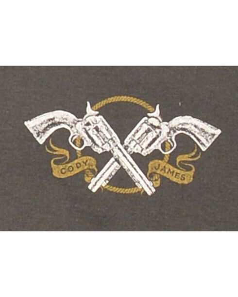 Cody James® Men's Start Running T-Shirt, Charcoal, hi-res