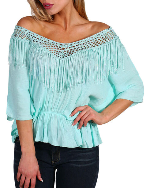Petrol Women's Cinch Fringe Poncho, , hi-res