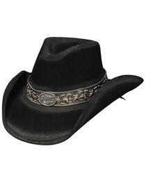 Bullhide Men's B. Kidd Wool Hat, Black, hi-res