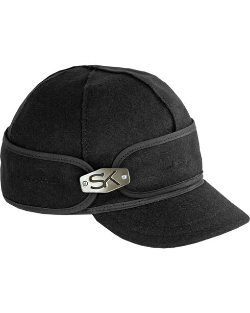 Stormy Kromer Women's Ida Kromer Hardware Cap, Black, hi-res