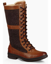 UGG Women's Lace-Up Outdoor Boots, , hi-res