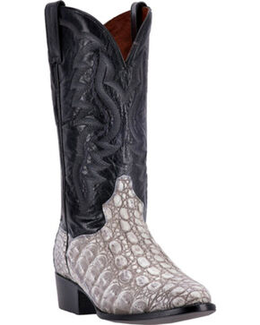 Dan Post Men's Caiman Birmingham Western Boots, Grey, hi-res
