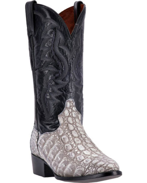 Dan Post Men's Caiman Birmingham Western Boots, Grey, hi-res
