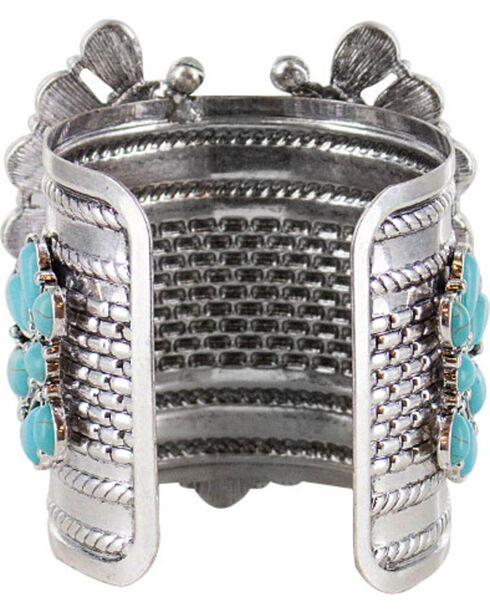 Shyanne® Women's Concho Cuff, Turquoise, hi-res