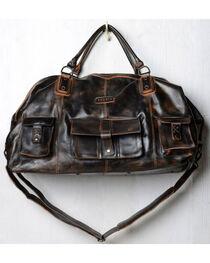 Bed Stu Men's Exile Black Rust Leather Travel Bag, , hi-res