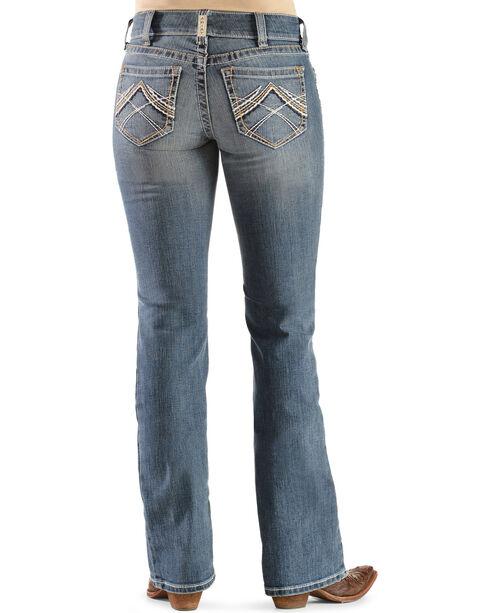 Ariat Women's Rainstorm Boot Cut Riding Jeans, Denim, hi-res