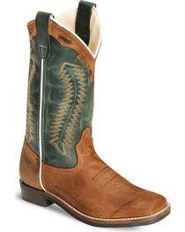 Cody James Youth Boys' Barnwood Cowboy Boot - Square Toe, , hi-res