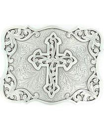 Nocona Filigree Cross Buckle, , hi-res