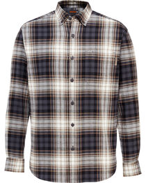 Wolverine Men's Rogan Plaid Flannel Shirt , , hi-res