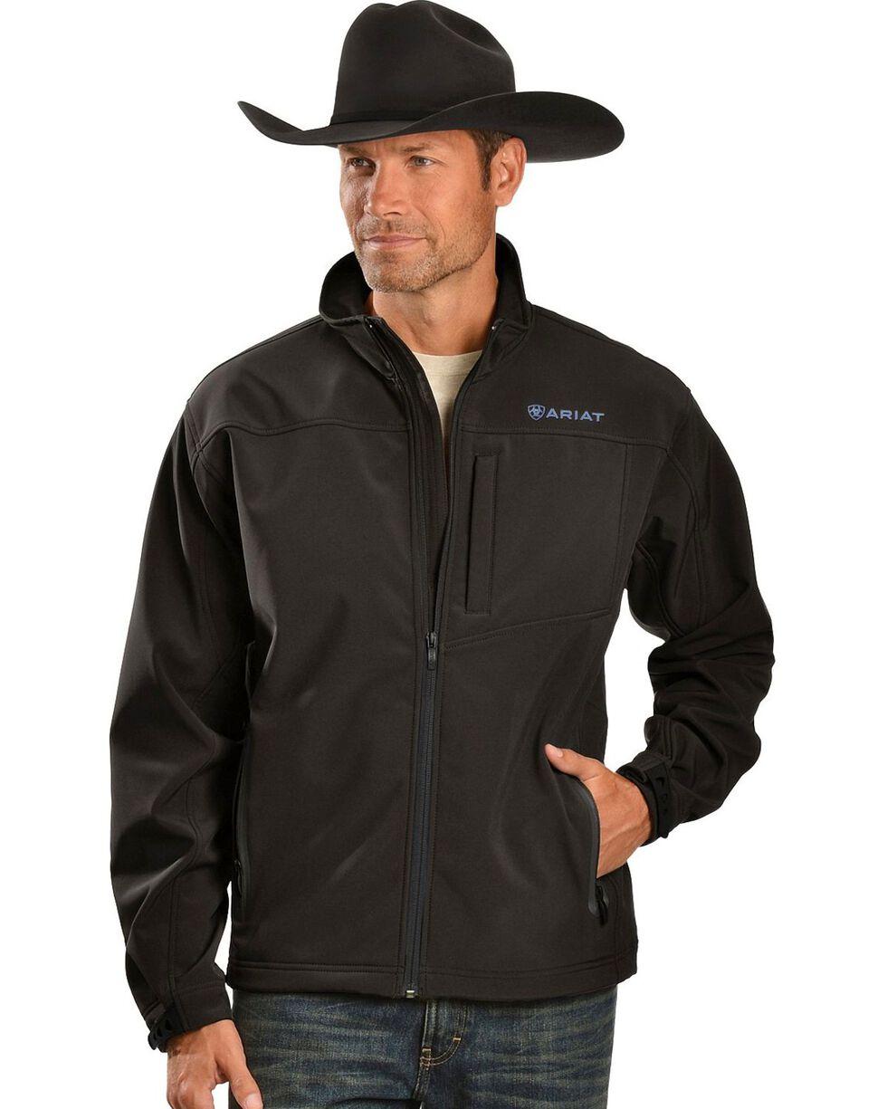 Ariat Men's Wind and Water Resistant Jacket, Black, hi-res