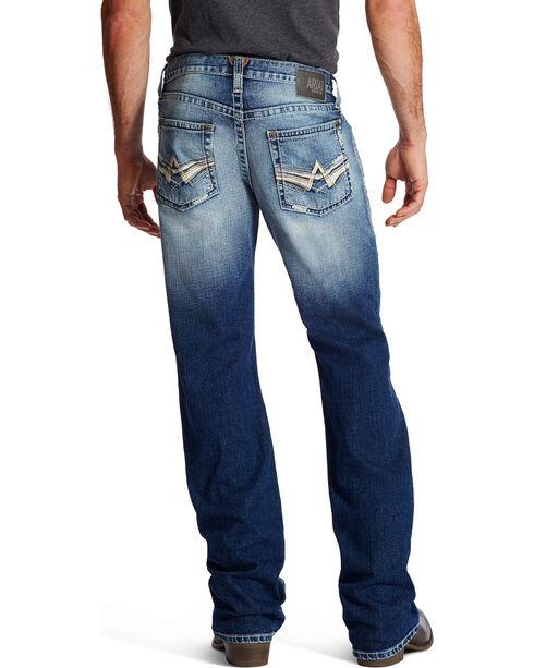 Ariat Men's M6 Alder Slim Boot Cut Jeans, Indigo, hi-res