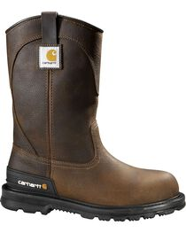 Carhartt Unlined Wellington Pull-On Work Boots - Steel Toe, , hi-res