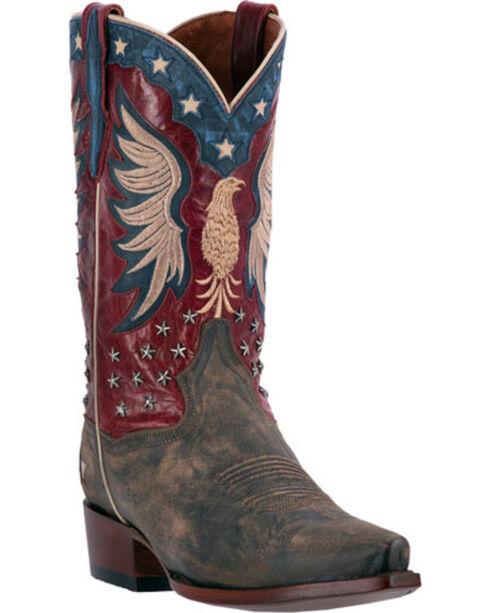 Dan Post Men's Bountiful Western Boots, Brown, hi-res