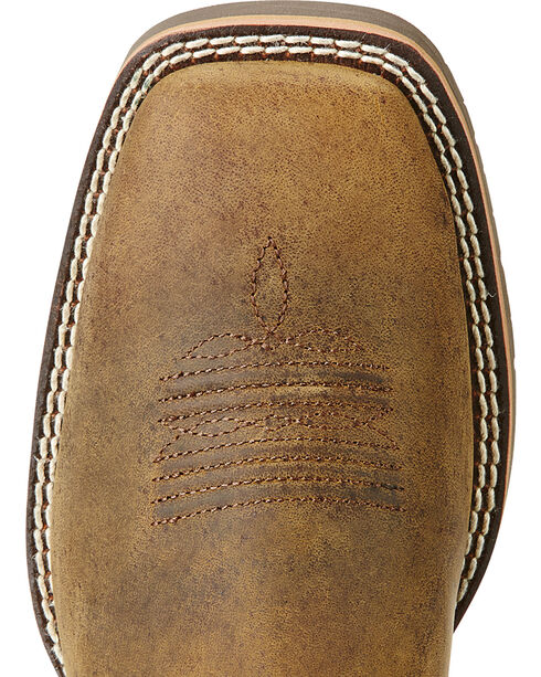Ariat Women's Hybrid Rancher Western Boots, Brown, hi-res