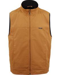 Wolverine Men's Brown Caleb Canvas Vest , , hi-res