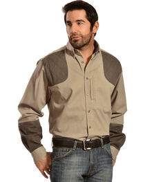 Gibson Trading Co. Men's Long Sleeve Shooting Shirt, , hi-res