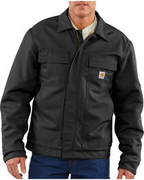 Carhartt Flame-Resistant Lanyard Access Quilt-Lined Jacket - Big & Tall, , hi-res