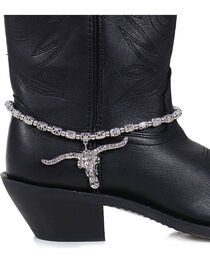 Shyanne Women's Longhorn Boot Bracelet , , hi-res