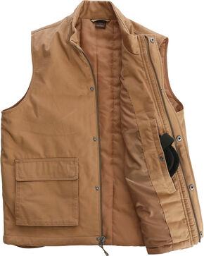 Wrangler Men's RIGGS Workwear Foreman Vest, Tan, hi-res