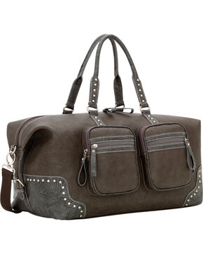 Bandana Lake Tahoe Carry All Duffle Bag, Charcoal Grey, hi-res