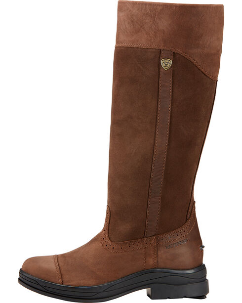 Ariat Women's Ennerdale H2O Tall English Boots, Dark Brown, hi-res