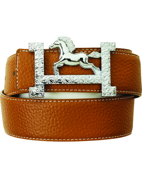 Ovation  Fashionista Belt, Brown, hi-res