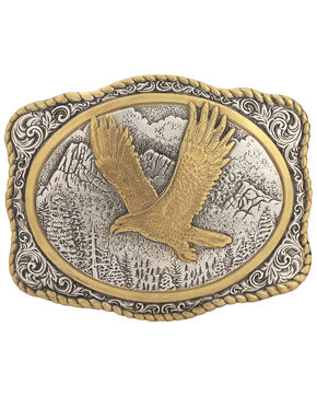 Gold-Tone Eagle Buckle, Multi, hi-res